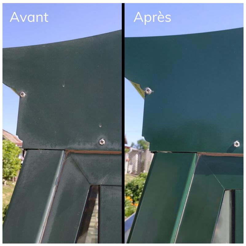 Renovating aluminium joinery